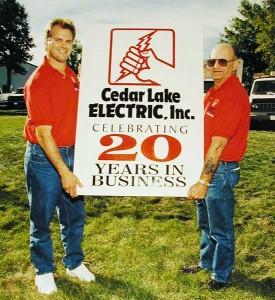 Jay & Jerry Valentyn - Celebrating 20 Years of Service - 1995