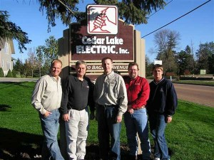 Cedar Lake Electric Project Management/Estimating Team