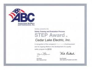 ABC Safety Training Award