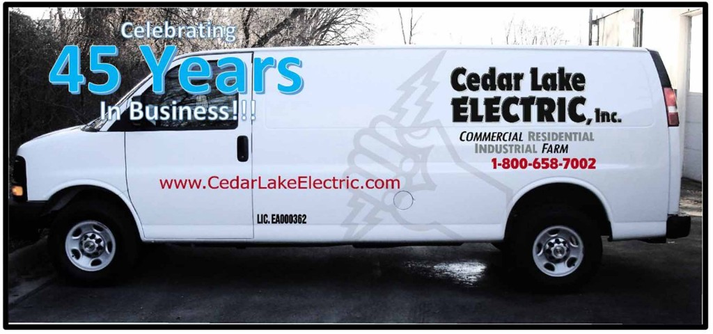 Cedar Lake Electric - 45 Years of Service