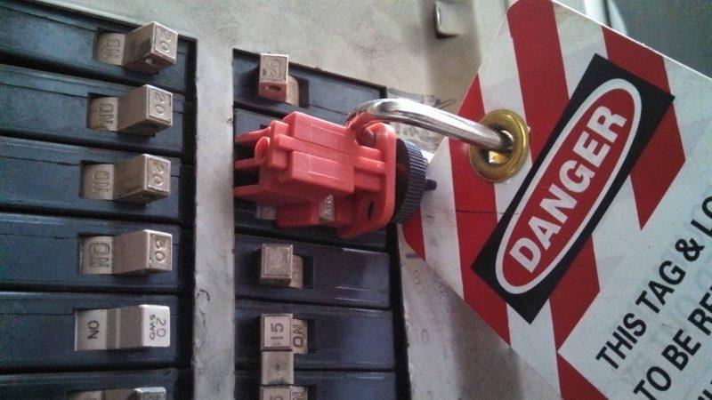 Electrical Breaker Lock