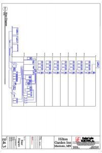 AutoCAD - Hilton Garden Riser