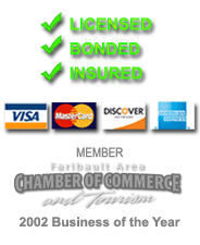 Licensed - Bonded - Insured