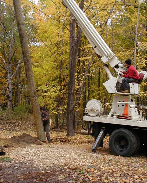 Pole Setting