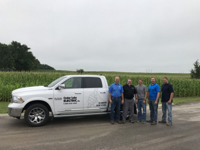 Cedar Lake Electric Project Managers