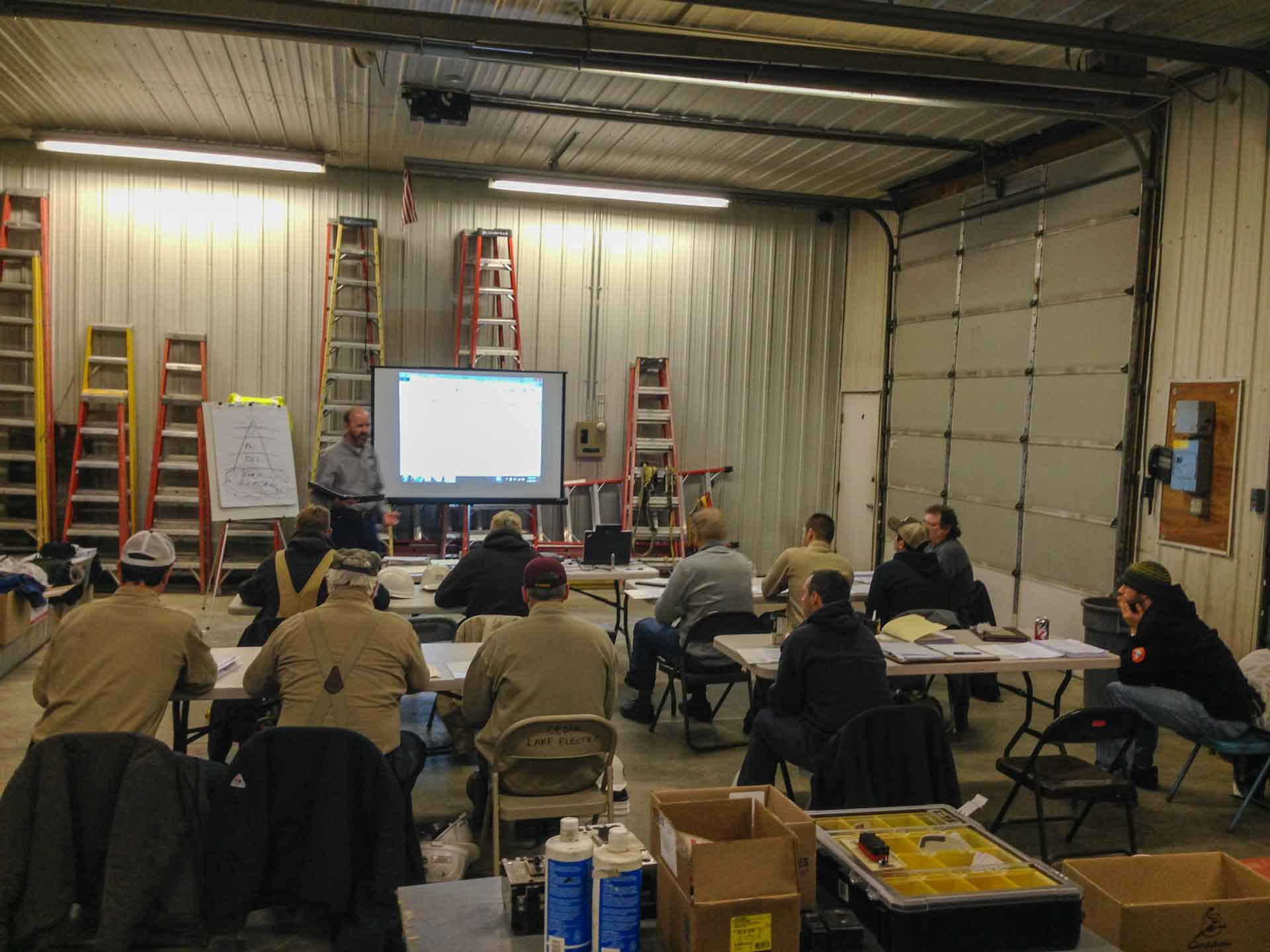 Cedar Lake Electric Safety Training Class